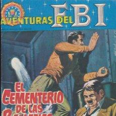 Tebeos: COMIC COLECCION NOVELA GRAFICA AVENTURAS DEL FBI Nº 2. Lote 146350698