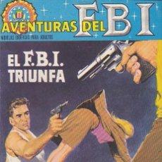 Tebeos: COMIC COLECCION NOVELA GRAFICA AVENTURAS DEL FBI Nº 10. Lote 146350990