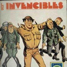 Tebeos: LOS INVENCIBLES Nº 4 , BOMBARDER BRIGGS. Lote 146555126