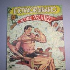 Tebeos: JEQUE BLANCO (1952, ROLLAN) EXTRA 2 · VII-1953 · EXTRAORDINARIO. INVENCIBLE. Lote 146577838