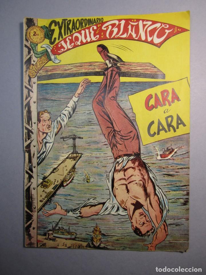 JEQUE BLANCO (1952, ROLLAN) EXTRA 1 · XII-1952 · EXTRAORDINARIO. CARA A CARA (Tebeos y Comics - Rollán - Jeque Blanco)