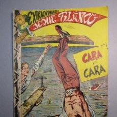 Tebeos: JEQUE BLANCO (1952, ROLLAN) EXTRA 1 · XII-1952 · EXTRAORDINARIO. CARA A CARA. Lote 146578394