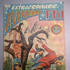 Tebeos: FBI, AVENTURAS DEL (1951, ROLLAN) EXTRA 1 · XII-1951 · EXTRAORDINARIO. Lote 146580170