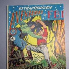 Tebeos: FBI, AVENTURAS DEL (1951, ROLLAN) EXTRA 3 · XII-1953 · EXTRAORDINARIO. TRES VALIENTES. Lote 146580382