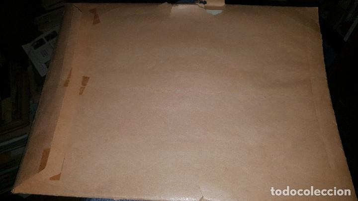Tebeos: Originales jeque blanco, n° 68 huyendo del terror, cubierta y 10 pags. Firma armando - Foto 10 - 148601146