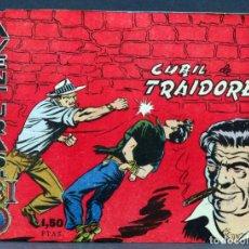 Tebeos: AVENTURAS DEL FBI Nº 15 EDITORIAL ROLLÁN 1958 CUBIL DE TRAIDORES. Lote 148928650