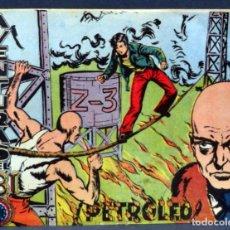 Tebeos: AVENTURAS DEL FBI Nº 24 EDITORIAL ROLLÁN 1958 PETRÓLEO. Lote 148929594