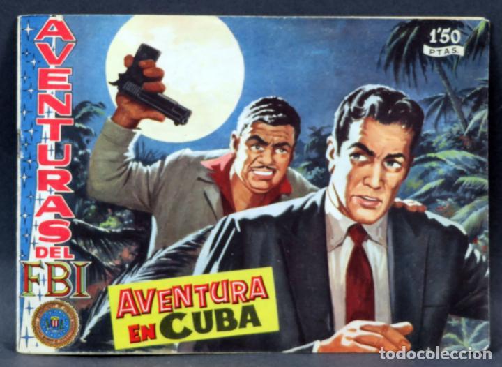 AVENTURAS DEL FBI Nº 174 EDITORIAL ROLLÁN 1958 AVENTURA EN CUBA (Tebeos y Comics - Rollán - FBI)