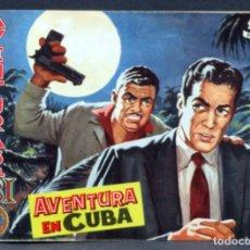 Tebeos: AVENTURAS DEL FBI Nº 174 EDITORIAL ROLLÁN 1958 AVENTURA EN CUBA. Lote 148929802