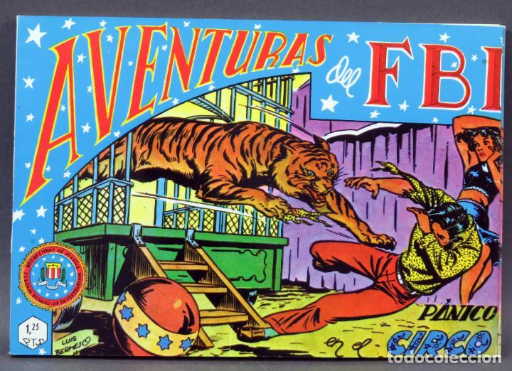 AVENTURAS DEL FBI TOMO 4 REEDICIÓN FACSÍMIL 6 NÚMEROS 19 20 21 22 23 24 ED BO 1981 (Tebeos y Comics - Rollán - FBI)