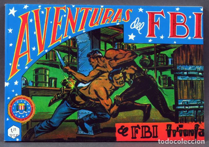 AVENTURAS DEL FBI TOMO 3 REEDICIÓN FACSÍMIL 6 NÚMEROS 13 14 15 16 17 18 ED BO 1981 (Tebeos y Comics - Rollán - FBI)
