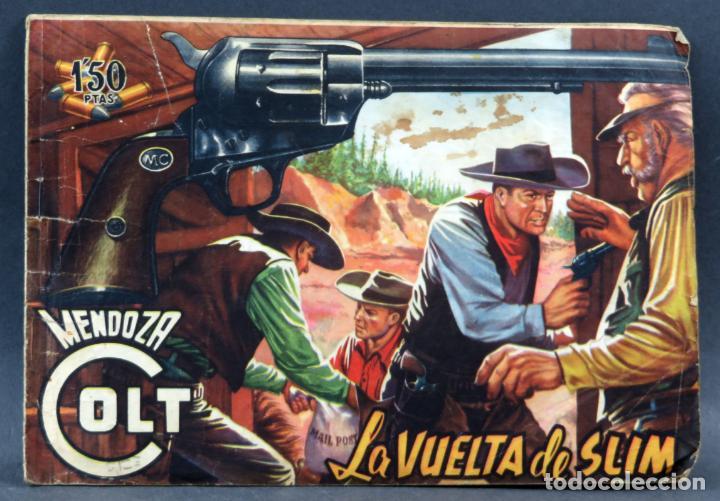 MENDOZA COLT 10 NÚMEROS DEL 11 AL 20 EDITORIAL ROLLÁN 1955 (Tebeos y Comics - Rollán - Mendoza Colt)