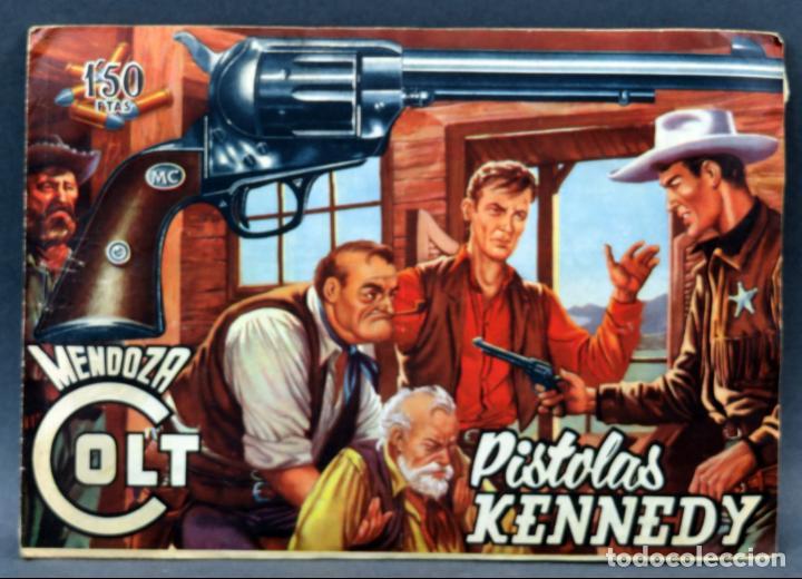 Tebeos: Mendoza Colt 10 números del 11 al 20 Editorial Rollán 1955 - Foto 3 - 149130866