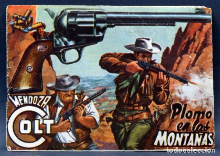 Tebeos: Mendoza Colt 10 números del 11 al 20 Editorial Rollán 1955 - Foto 4 - 149130866