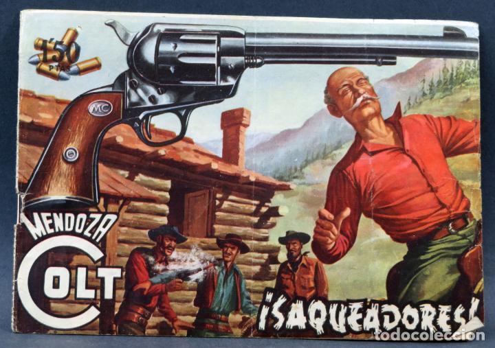 Tebeos: Mendoza Colt 10 números del 11 al 20 Editorial Rollán 1955 - Foto 5 - 149130866