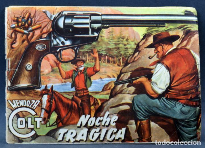 Tebeos: Mendoza Colt 10 números del 11 al 20 Editorial Rollán 1955 - Foto 7 - 149130866