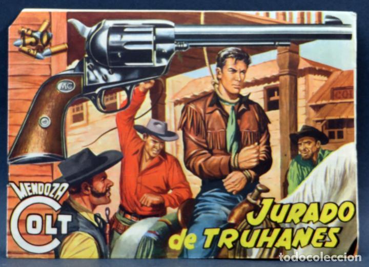 Tebeos: Mendoza Colt 10 números del 11 al 20 Editorial Rollán 1955 - Foto 9 - 149130866