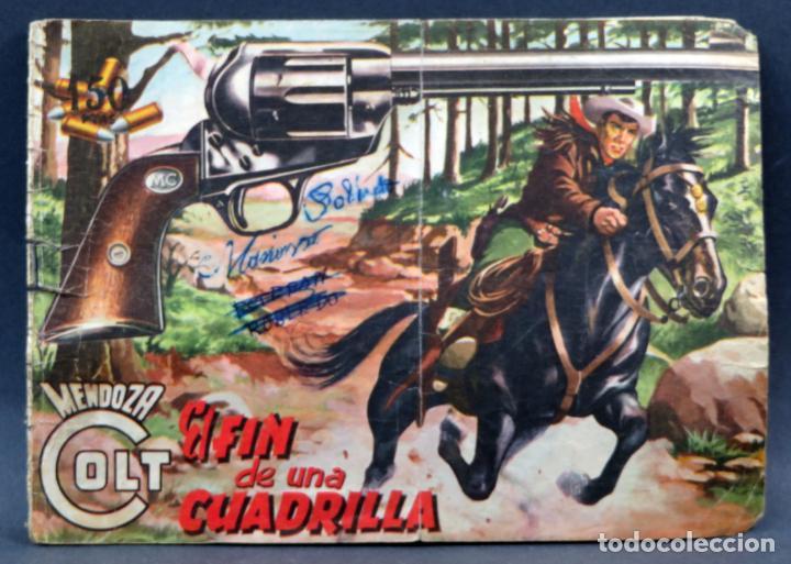 Tebeos: Mendoza Colt 10 números del 11 al 20 Editorial Rollán 1955 - Foto 10 - 149130866
