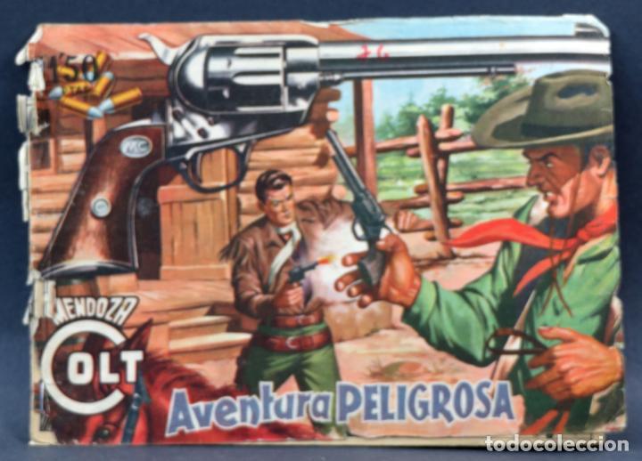 Tebeos: Mendoza Colt 10 números del 11 al 20 Editorial Rollán 1955 - Foto 11 - 149130866