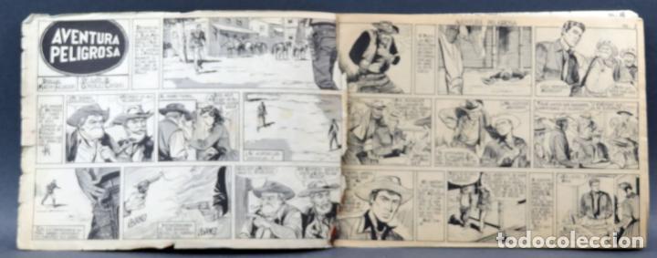 Tebeos: Mendoza Colt 10 números del 11 al 20 Editorial Rollán 1955 - Foto 12 - 149130866