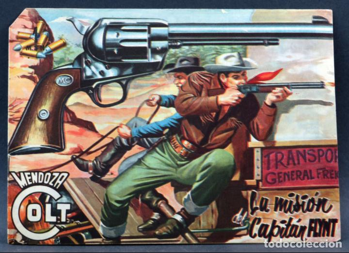 Tebeos: Mendoza Colt 10 números del 11 al 20 Editorial Rollán 1955 - Foto 13 - 149130866