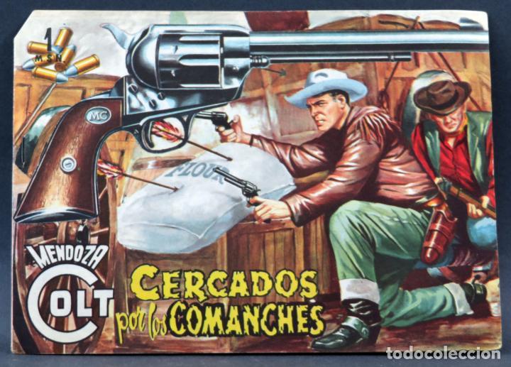 Tebeos: Mendoza Colt 10 números del 11 al 20 Editorial Rollán 1955 - Foto 14 - 149130866