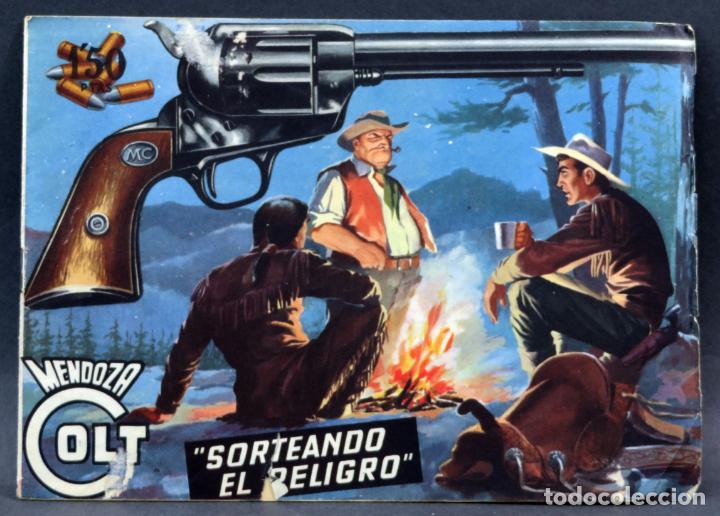 MENDOZA COLT 10 NÚMEROS DEL 21 AL 30 EDITORIAL ROLLÁN 1955 (Tebeos y Comics - Rollán - Mendoza Colt)