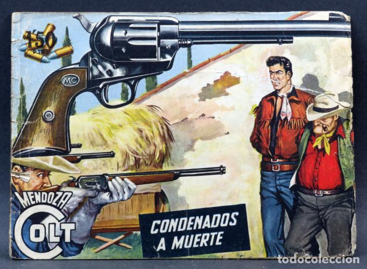 Tebeos: Mendoza Colt 10 números del 21 al 30 Editorial Rollán 1955 - Foto 2 - 149132430