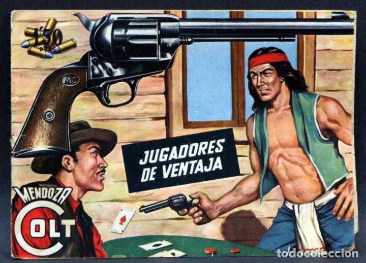 Tebeos: Mendoza Colt 10 números del 21 al 30 Editorial Rollán 1955 - Foto 3 - 149132430