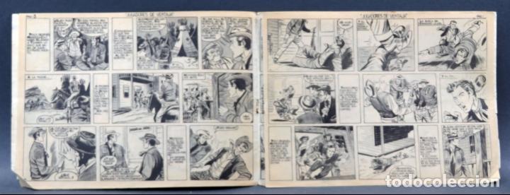 Tebeos: Mendoza Colt 10 números del 21 al 30 Editorial Rollán 1955 - Foto 4 - 149132430