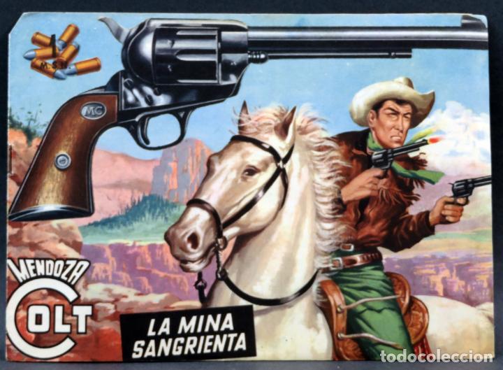 Tebeos: Mendoza Colt 10 números del 21 al 30 Editorial Rollán 1955 - Foto 5 - 149132430