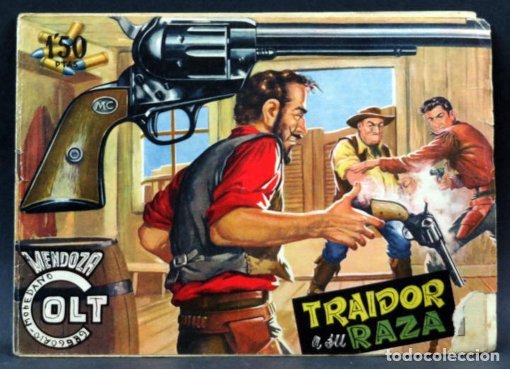 Tebeos: Mendoza Colt 10 números del 21 al 30 Editorial Rollán 1955 - Foto 6 - 149132430