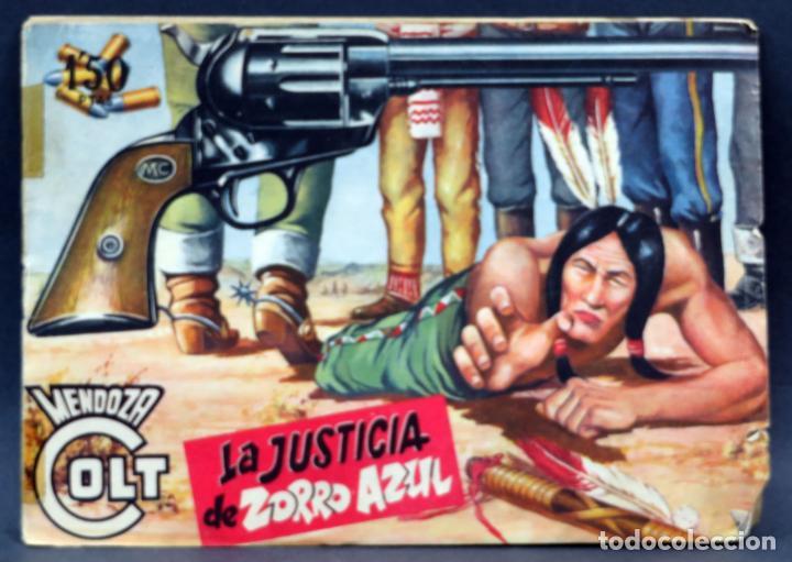Tebeos: Mendoza Colt 10 números del 21 al 30 Editorial Rollán 1955 - Foto 8 - 149132430