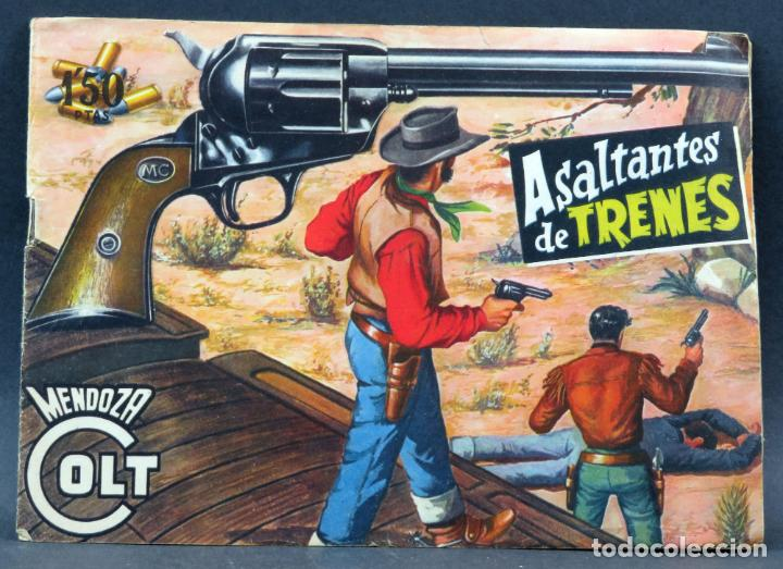 Tebeos: Mendoza Colt 10 números del 21 al 30 Editorial Rollán 1955 - Foto 10 - 149132430