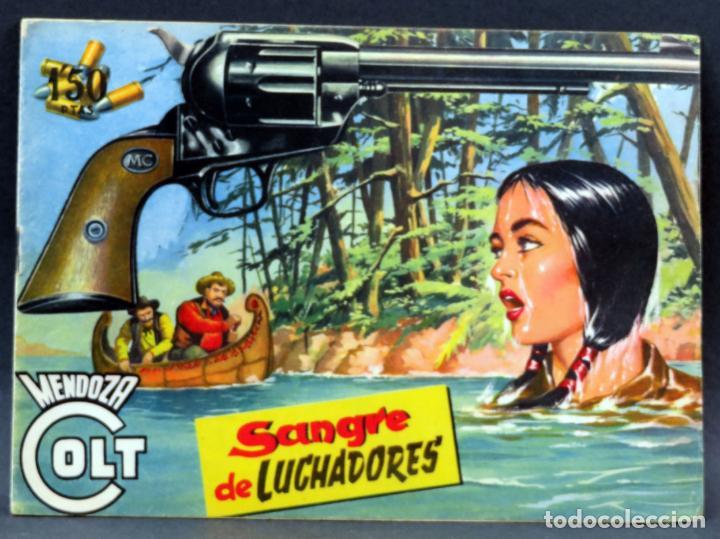 Tebeos: Mendoza Colt 10 números del 21 al 30 Editorial Rollán 1955 - Foto 11 - 149132430