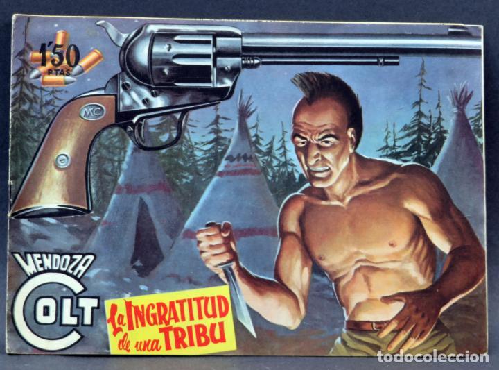 Tebeos: Mendoza Colt 10 números del 21 al 30 Editorial Rollán 1955 - Foto 12 - 149132430