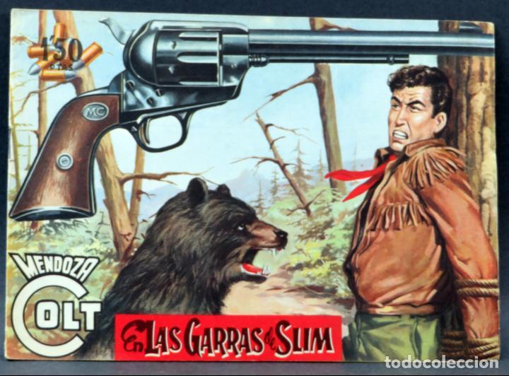 Tebeos: Mendoza Colt 10 números del 21 al 30 Editorial Rollán 1955 - Foto 14 - 149132430