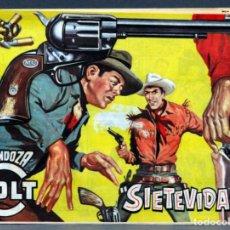 Tebeos: MENDOZA COLT Nº 98 EDITORIAL ROLLÁN 1955. Lote 149147758