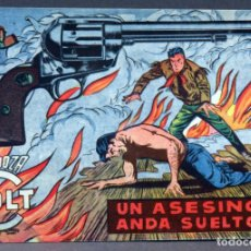 Tebeos: MENDOZA COLT Nº 110 EDITORIAL ROLLÁN 1955. Lote 149155054