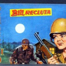 Tebeos: AVENTURAS DEL FBI Nº 167 EDITORIAL ROLLÁN 1958 BILL RECLUTA. Lote 149171870