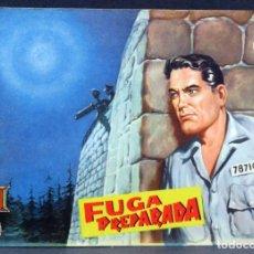 Tebeos: AVENTURAS DEL FBI Nº 169 EDITORIAL ROLLÁN 1958 FUGA PREPARADA. Lote 149172866