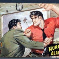 Tebeos: AVENTURAS DEL FBI Nº 171 EDITORIAL ROLLÁN 1958 HURACÁN SOBRE ALABAMA. Lote 149173794