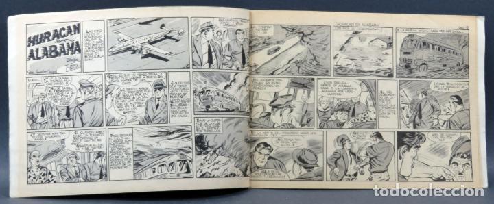Tebeos: Aventuras del FBI nº 171 Editorial Rollán 1958 Huracán sobre Alabama - Foto 2 - 149173794