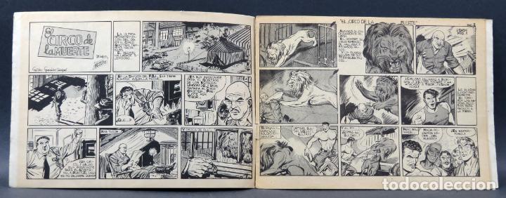Tebeos: Aventuras del FBI nº 172 Editorial Rollán 1958 El circo de la muerte - Foto 2 - 149174286