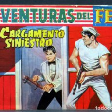 Livros de Banda Desenhada: AVENTURAS DEL FBI Nº 243 EDITORIAL ROLLÁN 1958 CARGAMENTO SINIESTRO. Lote 149178934