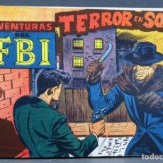 Tebeos: AVENTURAS DEL FBI Nº 251 EDITORIAL ROLLÁN 1958 TERROR EN SOHO PENÚLTIMO NÚMERO. Lote 149182854