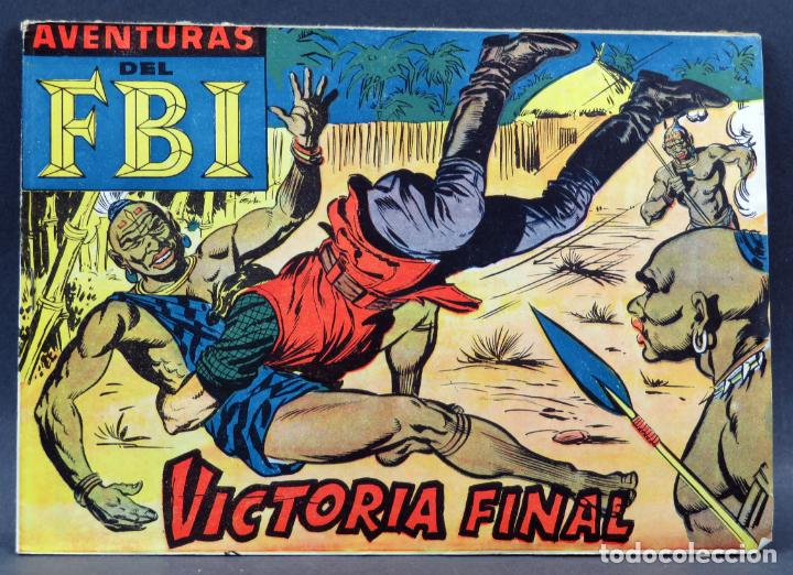 AVENTURAS DEL FBI Nº 252 EDITORIAL ROLLÁN 1958 VICTORIA FINAL ULTIMO NÚMERO (Tebeos y Comics - Rollán - FBI)