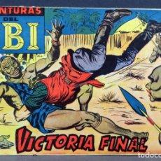 Tebeos: AVENTURAS DEL FBI Nº 252 EDITORIAL ROLLÁN 1958 VICTORIA FINAL ULTIMO NÚMERO. Lote 149183474