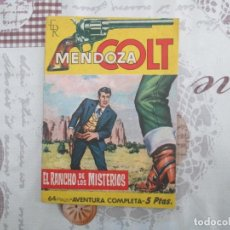 Tebeos: MENDOZA COLT Nº 47. Lote 150132590