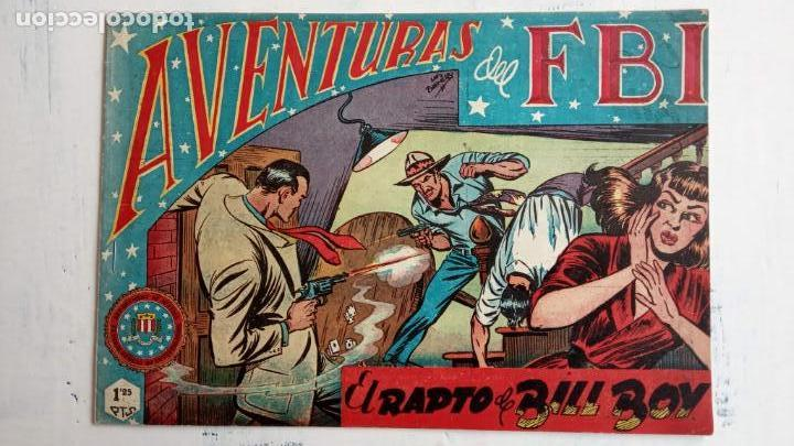Tebeos: AVENTURAS DEL FBI ORIGINALES LOTE DE 78 NºS DEL 1 AL 165 - BUEN-MUY BUEN ESTADO - VER TODAS PORTADAS - Foto 14 - 150580062
